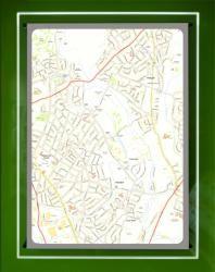 Backlit Wall Maps